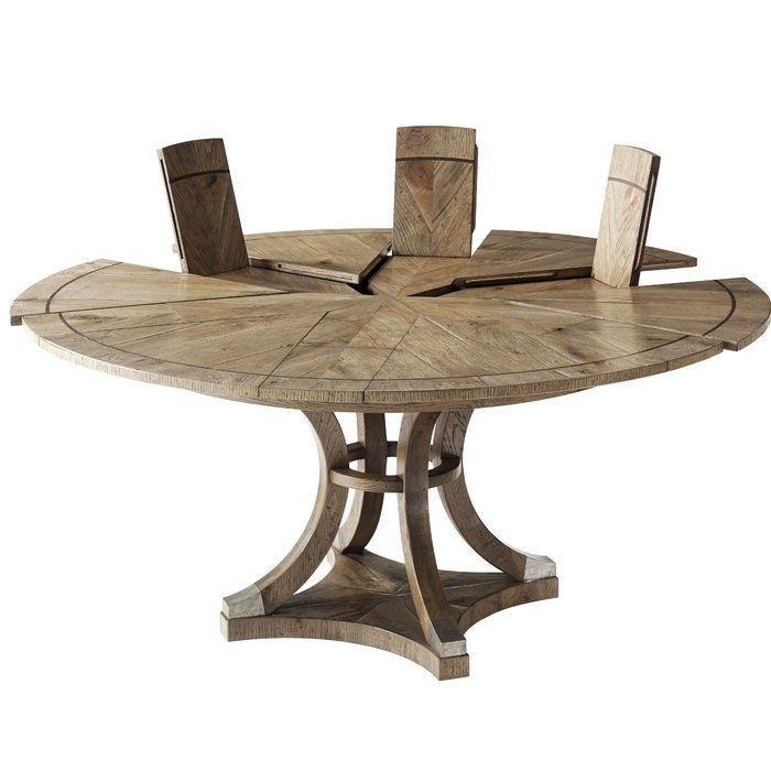 Devereaux Extendable Solid Wood Dining Table In 2020 Dining