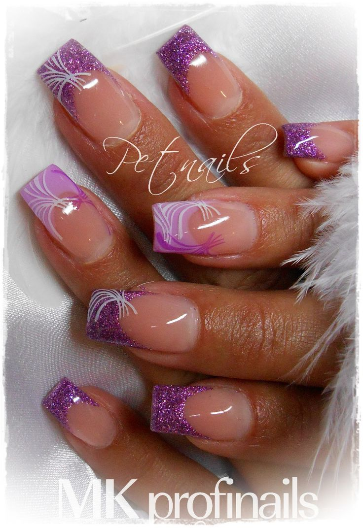 17 Best Ideas About French Acrylic Nails On Pinterest