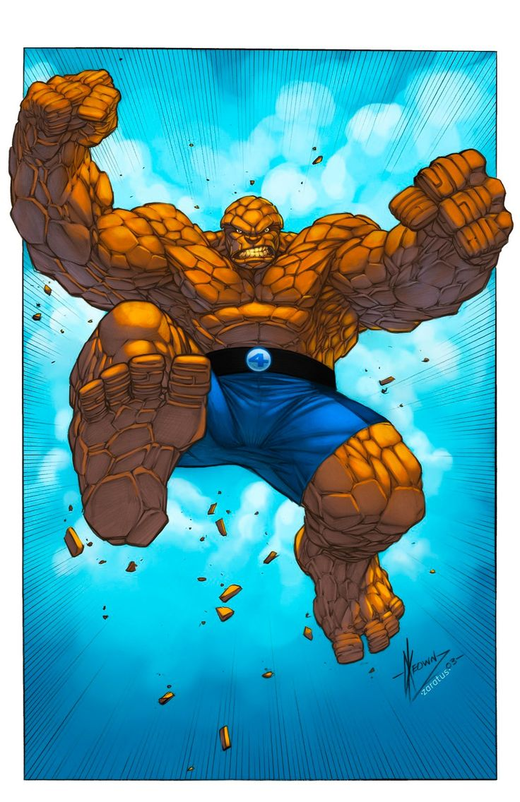 The Thing - Fantastic Four (Marvel)