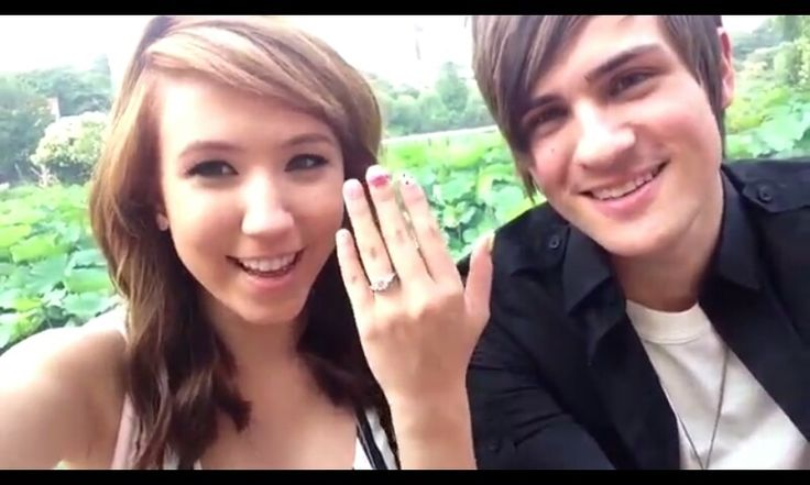 Anthony & Kalel got engaged, so happy for them ...