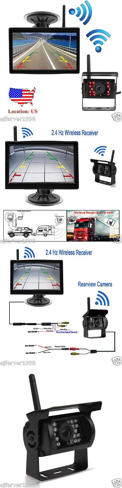 77474f0fb20cd289a310873da27daf62 rv truck trucks best 25 backup camera for truck ideas on pinterest rv backup rosco backup camera wiring diagram at alyssarenee.co