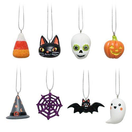 Celebrate Halloween Together Halloween Ornaments 8-piece Set