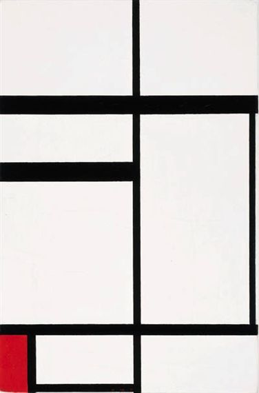 Piet Mondrian, Composition No. I; Composition with Red, 1931 Fun Fact: this painting was once owned by Charmion von Wiegand!