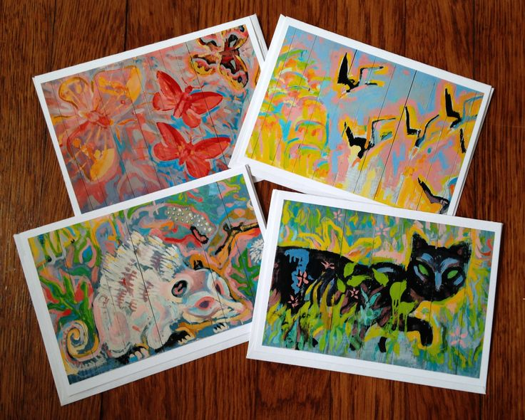 """4"""" X 6"""" original photos on archival safe card stock make up every 4 pak of blank notecards. It's the perfect stationery for a thoughtful note to a friend with ties to the WAMA and Ocean Springs, or a great small gift for those who love to write $10."""