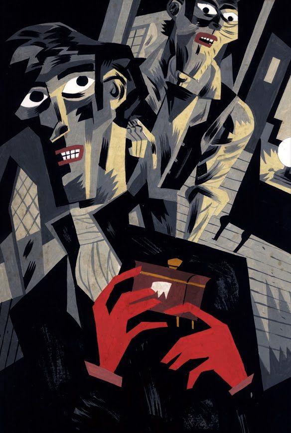Illustration for a Edgar Allan Poe´s collective book