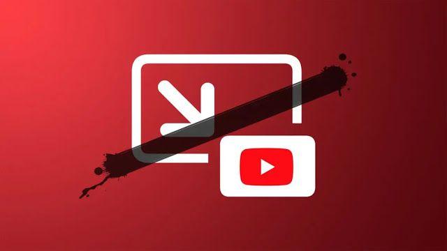 يوتيوب تحظر ميزة صورة داخل صورة في Ios 14 Kn يبدو أن منصة يوتيوب قد أدخلت تعديلا يمنع مقاطع الفيديو من الاستمرار في Support Pictures Latest Iphone Party Apps