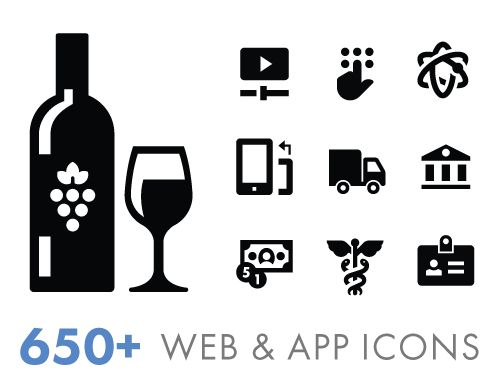 The Iconify Collection is a set of over 650 Free Glyph Icon depicting common ideas, actions, and objects. Each icon is designed /Volumes/Marketing/_MOM/Design Freebies/Free Design Resources/Scott-Lewis_650-Free-Glyph-Icon-Pack_030117