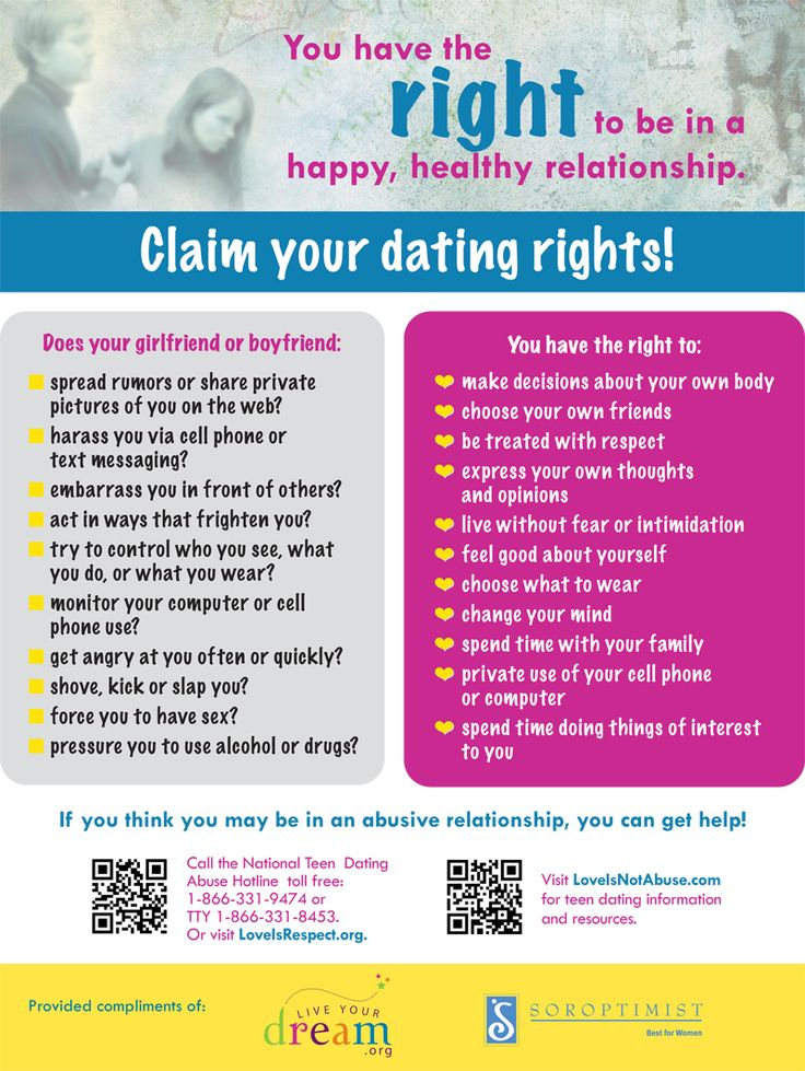 Teen Dating Violence Awareness Project for #teens #parents #schools
