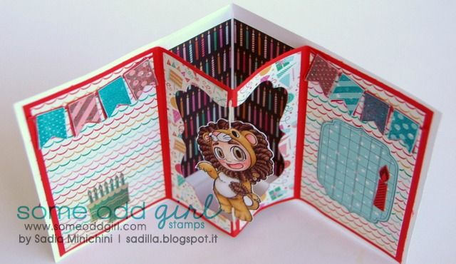 Some Odd Girl Blog | 3D spinner card tutorial | http://www.someoddgirlblog.com
