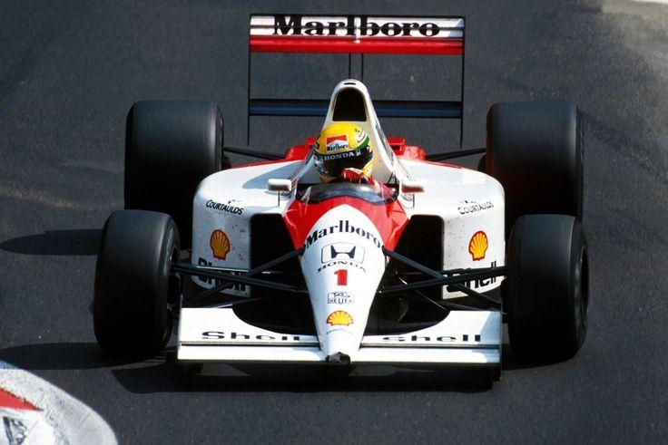 Ayrton Senna McLaren - Honda 1991  The best looking McLaren ever?