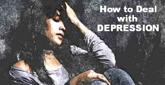 deal with depression