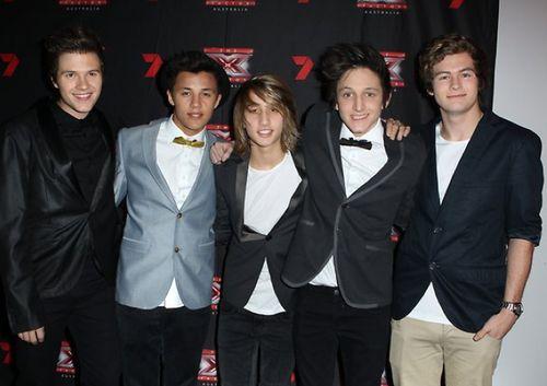 Brock, Tyrone, Christian, Mitch & Luke - What About Tonight