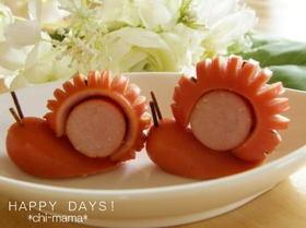 Transformez une knaki en escargot facilement ! Génial pour les #enfants ! #cuisine