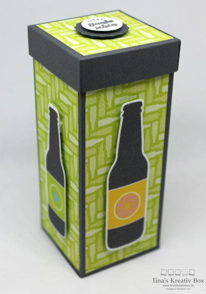Schmale Box Einfach Spritzig - mit Produkten von Stampin' Up!