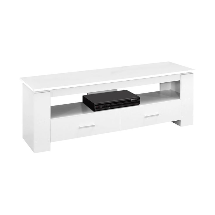 TV Stand with Drawers - White - EveryRoom