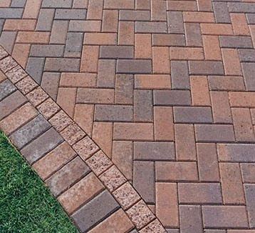 20 best images about outdoor living on pinterest front for Exterior brick design patterns