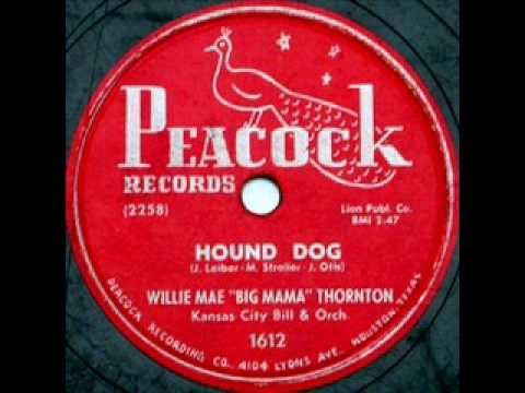 "WILLIE MAE ""BIG MAMA"" THORNTON: ""hound dog"", 1952  the ORIGNAL VERSION that Elvis stole"