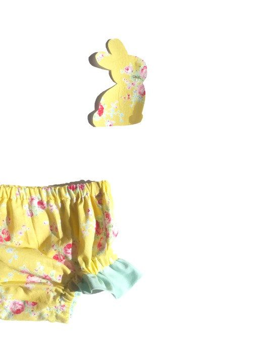 Easter Bloomers Gift Set  Nappy Cover  Diaper Cover by BugseyBee