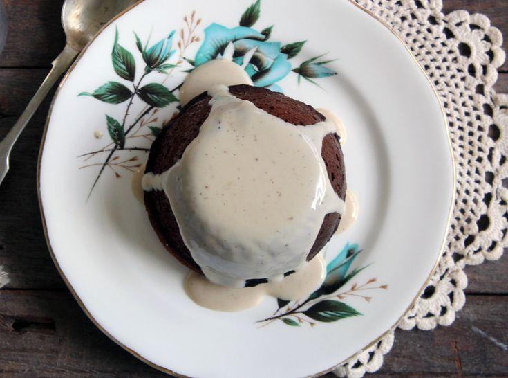 Sticky date & fair trade banana pudding w/ coconut caramel custard — bonnie delicious