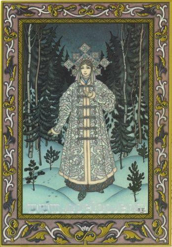 Boris Zvorykin illustrations in the style of Ivan Bilibin. Beautiful.