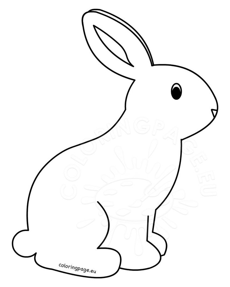 Printable Rabbit Coloring Pages For Kids Bunny Coloring Pages Printable Kid Coloring Coloring Pages