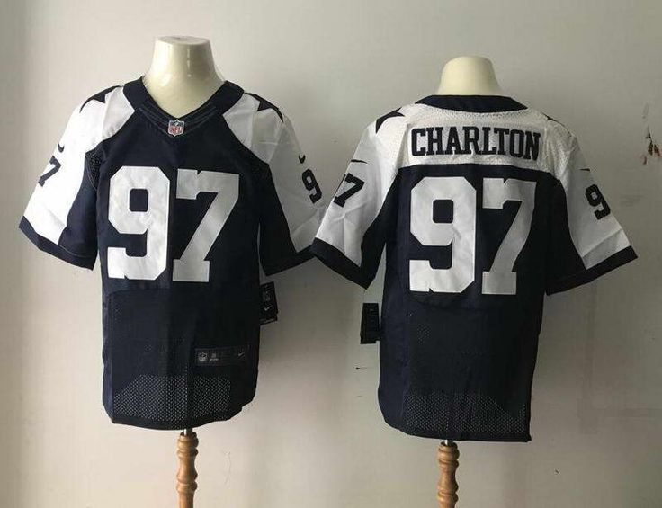 cd1b9be7f4e ... White Color Elite Jersey Dallas Cowboys Charlton Blue Thanksgiving Men  2017 New Style NFL Draft Elite Stitched Jersey ...