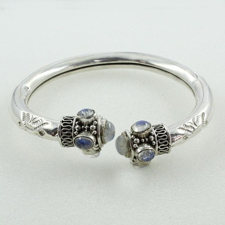 52 best 925 Sterling Silver Bangles images on Pinterest   Silver ...