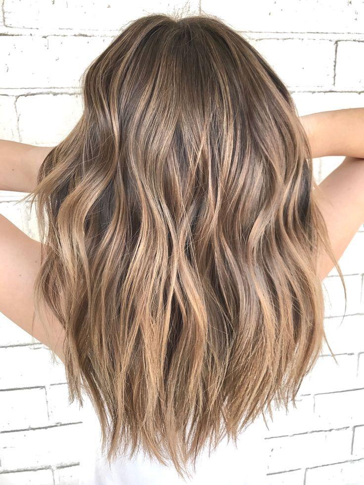 Schönes Haar – #Haar #Schönes #schulterlang
