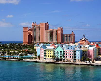The Atlantis and Harborside Resort, Paradise Island, Nassau, Bahamas. I used to work for Atlantis and traveled to the resort often....for free! Sure do miss that little  PERK!! :) > http://www.atlantis.com/accommodations/harborsideresort.aspx