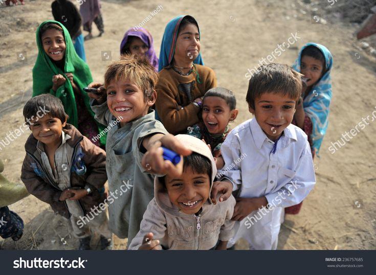 QUETTA, PAKISTAN - JANUARY 25: Flood survivors in relief camp in Quetta, Pakistan on January 25, 2011.