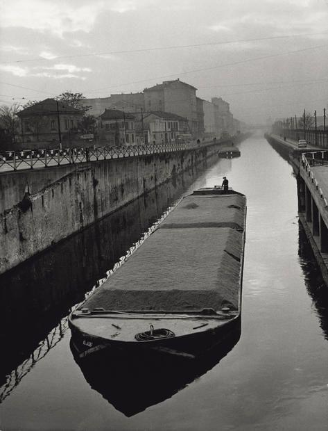 Porta Ticinese - Milano, anni '50 - by Mario De Biasi