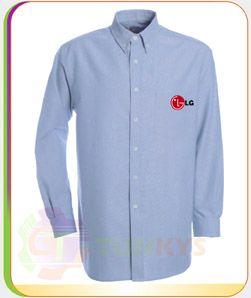 Camisas Oxford Nacional e Importado (50% Polyester  y 50% Algodon) Resistencia y Durabilidad Ideal para uniforme institucional con bordado logo de su empresa.  Codigo: COXF-004