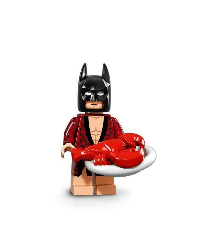 Lego Batman Movie Series 71017 Mini Figure Lobster Lovin/' Batman
