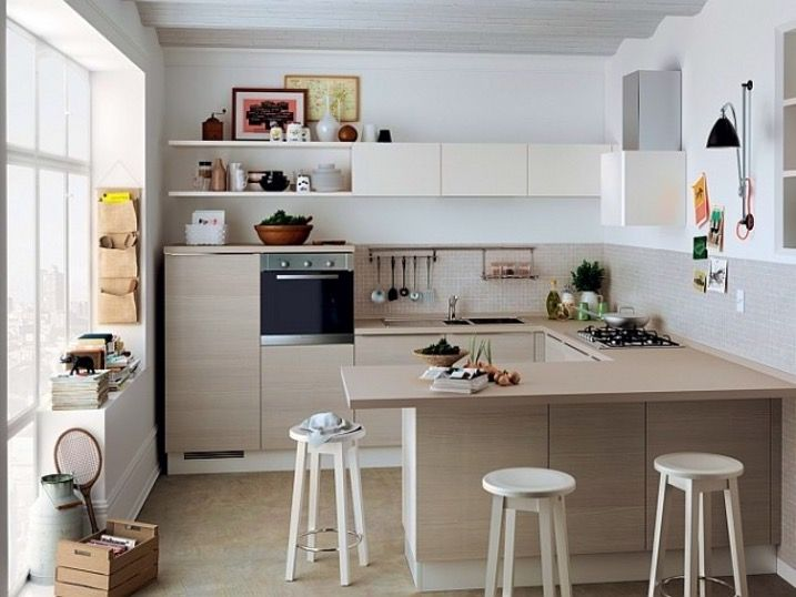 Cuisine Ouverte Salon 30m2 Cuisine En 2019 Meuble