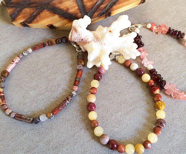 Gemstone stackable bracelets #design #unique #jewellery #handmade #GGJewellery