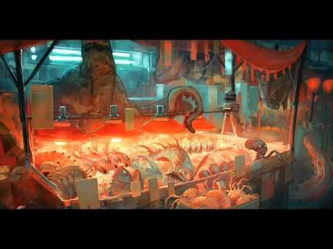 Paint a market stall in Procreate that's out of this world! - YouTube