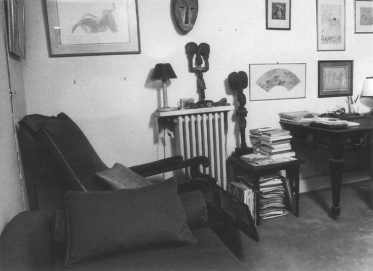 Sofa and office cabinet - Jacques Lacan