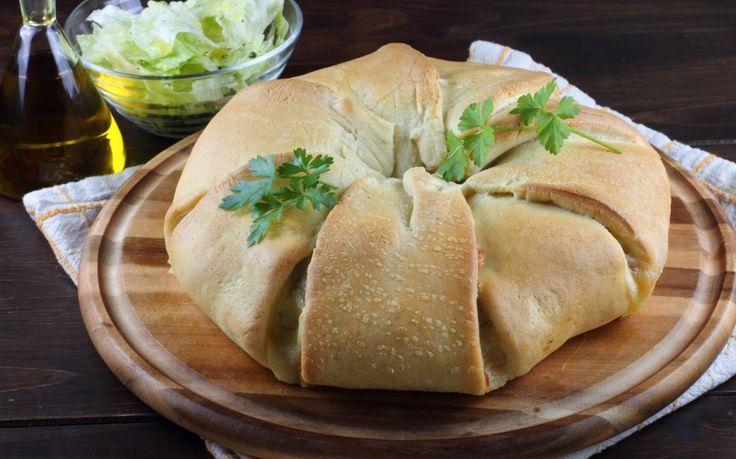 Corona di pane ripiena