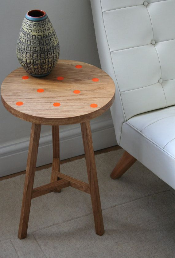 Side Table Clementine by MARATTYDesign on Etsy