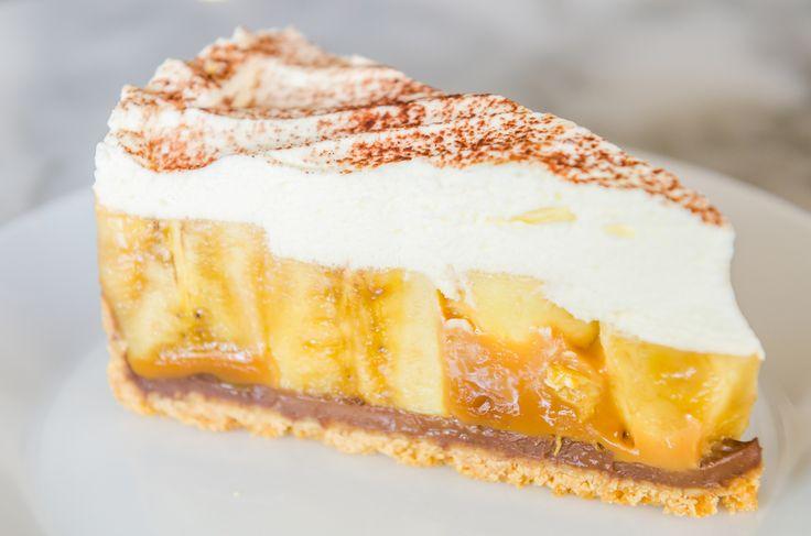 Tarta lui Jamie cu banane – fără coacere