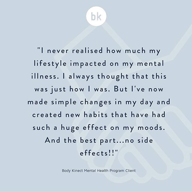 Mental health recovery is a tricky beast. We educate and empower our clients to make positive changes that make a huge effect on their self esteem, health and ultimately their lives. When we hear feedback like this it reinforces how important it is to give our clients the tools to drive their own recovery journey.  If you'd like to learn more about the work we do with people living with mental illness, please get in touch.