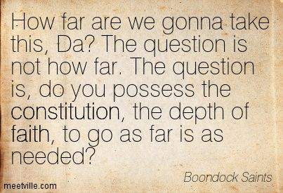 take this, Da? The question is not how far . The question is, do you ...