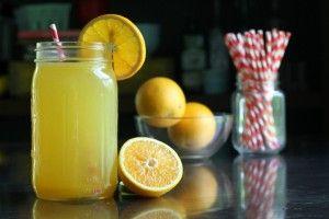 Bebida deportiva hecha en casa