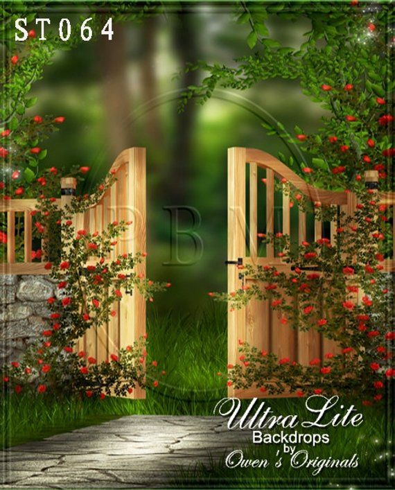Photography Backdrop Spring Garden Gate Background Ultralite Etsy In 2021 Garden Backdrops Backdrops Backgrounds Background For Photography Backdrop studio garden background hd