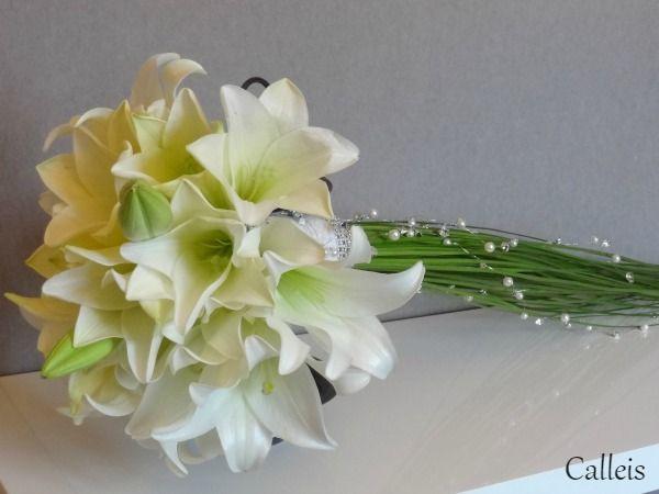 bouquet de lys - bouquet de mariée