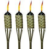 "Amazon.com: CozYours FIBERGLASS TIKI TORCH WICKS 9.85"" LONG 12 PCS; 118.2"" TOTAL; (Replacement Tiki Torch Wicks For Oil Lamps, DIY Wine & Beer bottle Tiki Torches, etc. (Tiki Torches Wicks): Arts, Crafts & Sewing"