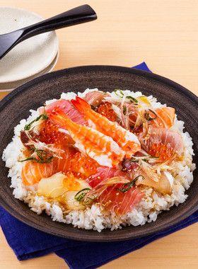おもてなしに♪寿司だねで簡単手こね寿司 by イオン [クックパッド ...