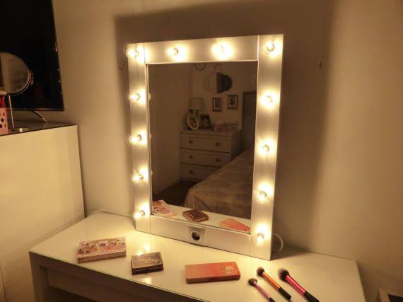 Makeup mirror with lights Vanity mirror Hollywood mirror