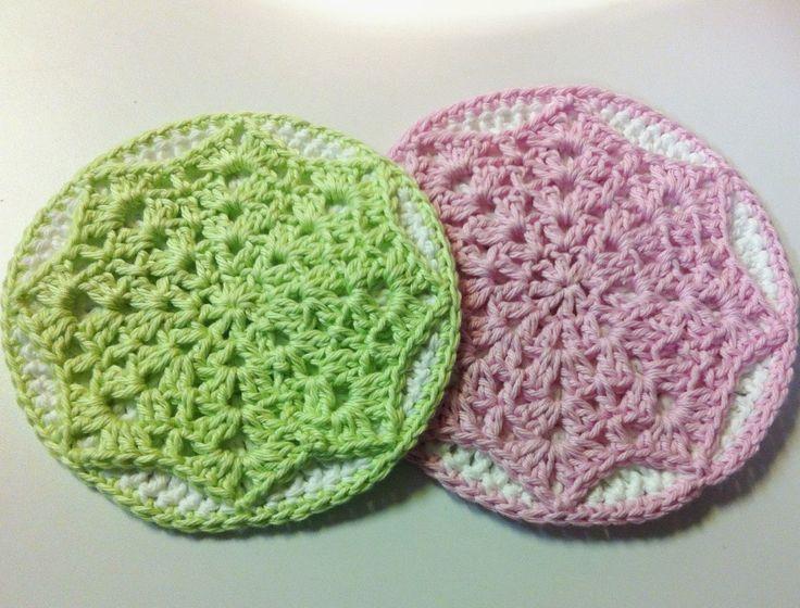 123 best Crochet Potholders images on Pinterest | Agarradores de ...