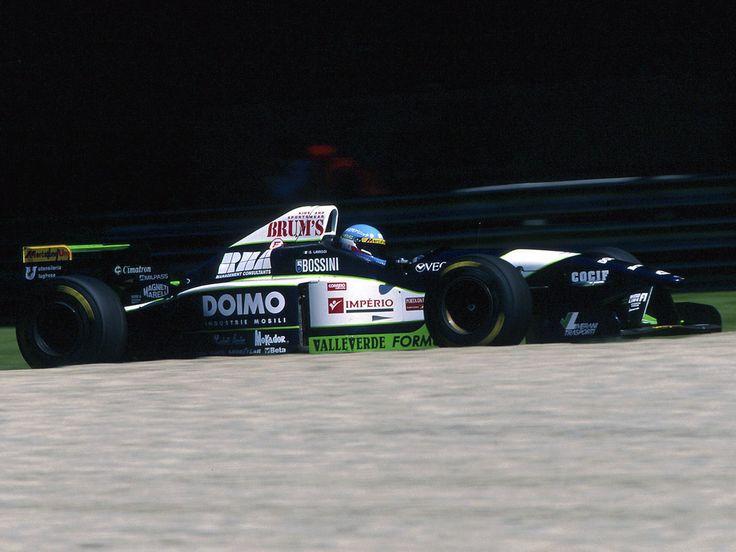 1996, Minardi M195B, Ford V8